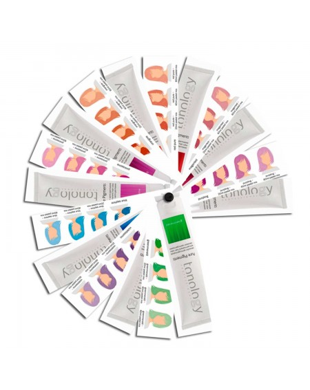 Tonology Pure pigments Carta de color