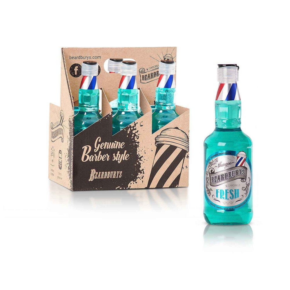 Champú Ultra Refrescante Beardburys Fresh