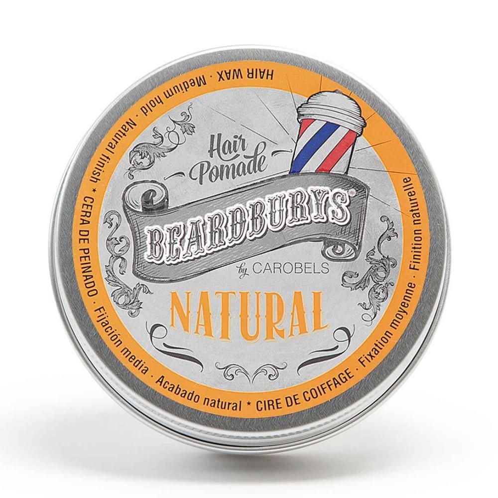 Cera para el pelo Beardburys Natural