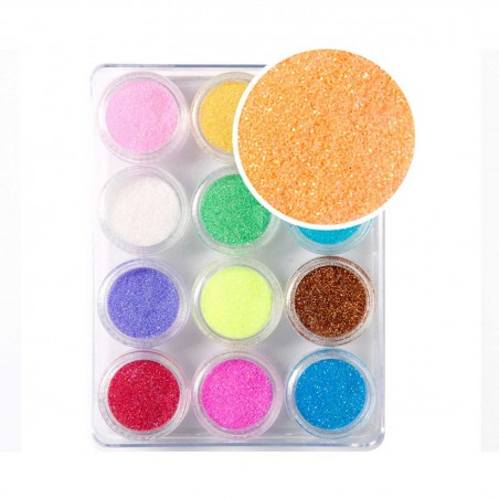 Decoración uñas Glitter Powder Set Nº2