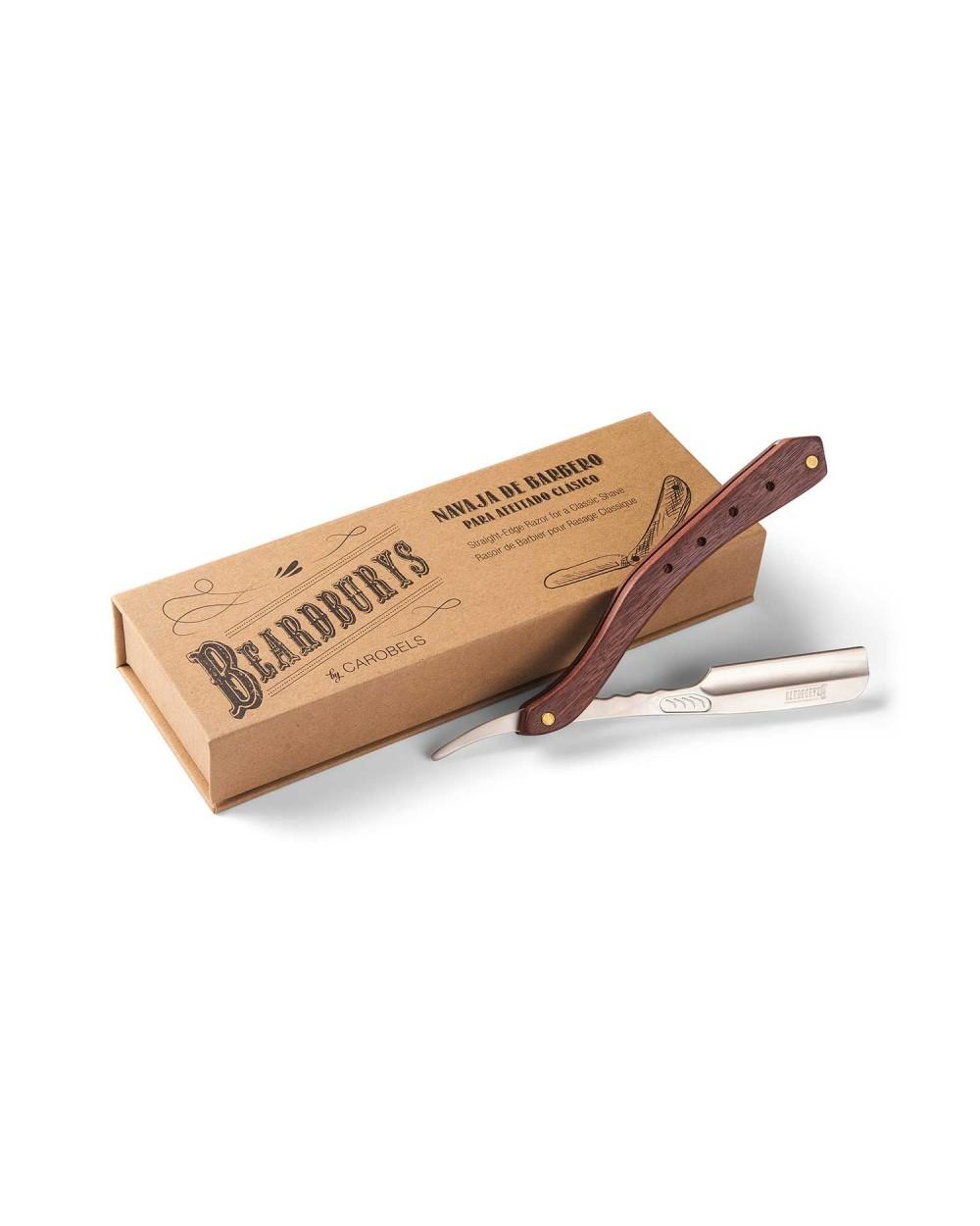 Navaja de barbero Shaving Art con caja