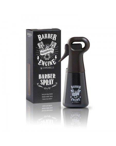 Spray multiposición Beardburys Barber Engine y Packaging