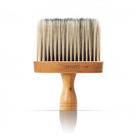 Cepillo de cuello para barbería con cerdas ultrasuaves de nylon