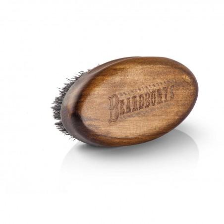 Cepillo barba grande Beardburys acabado madera