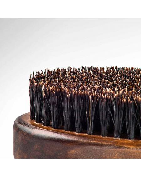 Cepillo barba grande Beardburys detalle cerdas de jabali