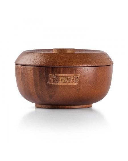 cuenco de afeitado de madera Beardburys