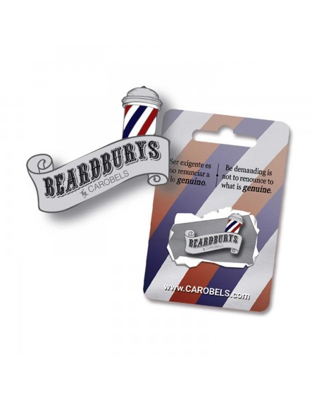 Beardburys Brand Pin