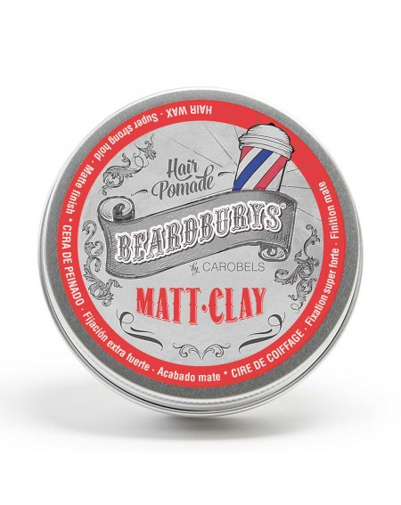 Cera para el pelo Beardburys Matt Clay 100ml