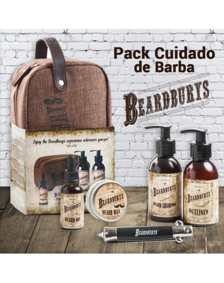 Pack cuidado de barba beardburys