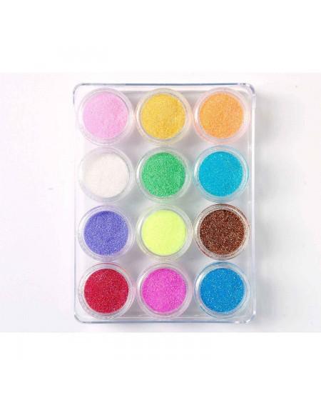 Decoración uñas Glitter Powder Set Nº2