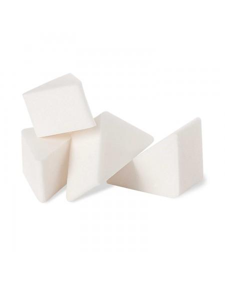 Esponja de maquillaje triangular 4 ud